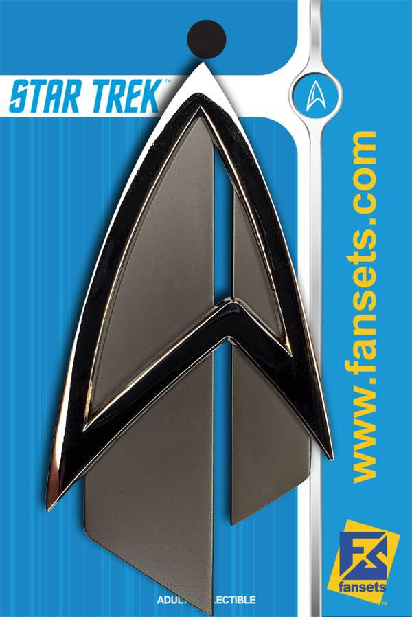 Our first FULL size, 1 to 1 #StarTrek #Picard Delta is now available. https://t.co/NpnDpedbyZ 1. Not intended for cosplay,  2. Not considered a show prop 3. Size is show accurate. Fully Licensed by Star Trek. #WeOnlyMakePins Up next the Voyager Comm Badge!! #OurPinsHaveCharacter https://t.co/QcUhhCUZ2g