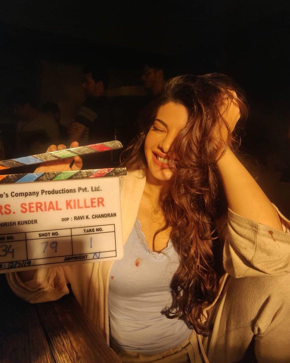 Today is the day! 'Mrs Serial Killer' in a few hours!! Only on @NetflixIndia ❤️❤️❤️ @ShirishKunder @BajpayeeManoj @mohituraina @TheFarahKhan @shrishtiarya @shaanmuofficial
