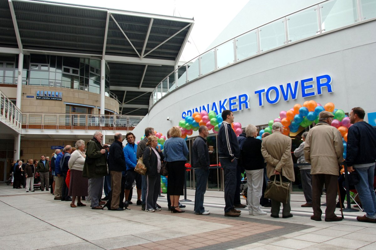 """Spinnaker Tower on Twitter: """"Since our grand opening on 18th October 2005,  we have seen over 4 million visitors; and that doesn't even include our  party guests! #FactFriday… https://t.co/Hr3RXaZ4x3"""""""