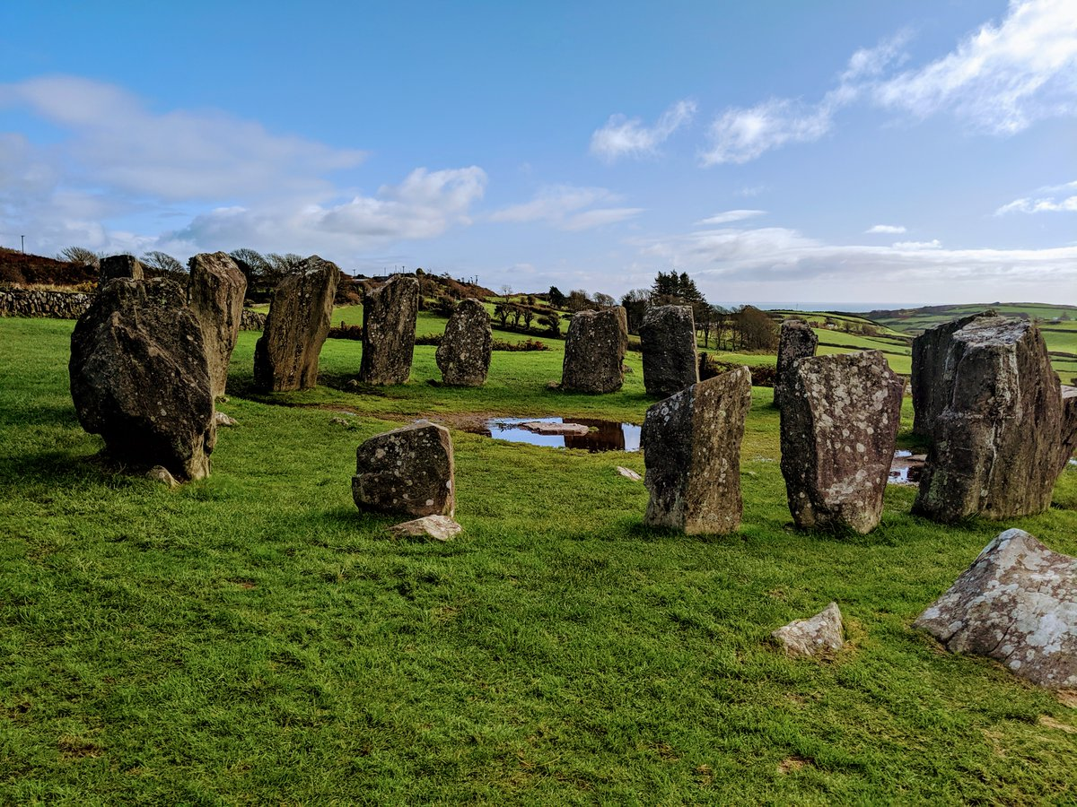 For #Bealtaine, here's Drombeg Stone Circle in West Cork. Any wildflowers going?
