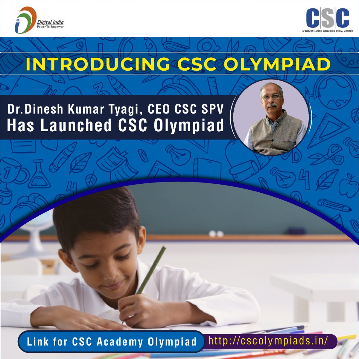 "CSCeGov on Twitter: ""Introducing CSC Academy Olympiad!! Dr ..."