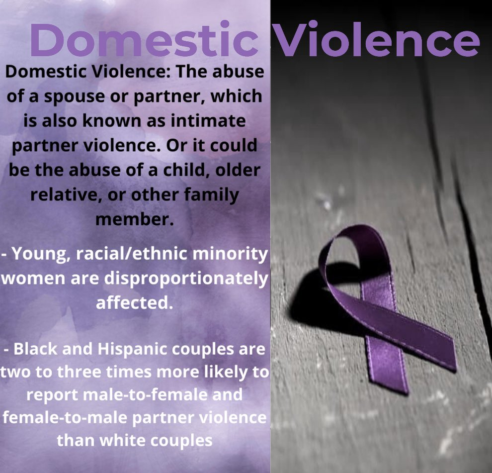 yes, race is a factor in domestic violence but lets remember, domestic violence affects everyone! this is why we should ALL help fight against it! #DomesticViolence #Oakland #abuse https://t.co/Xv5WrX4Qr1