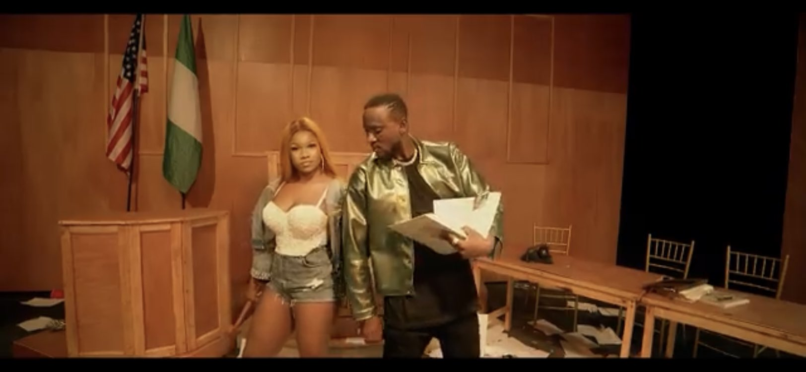 Tacha and omashola releases their Chiwawa video(Watch Now)