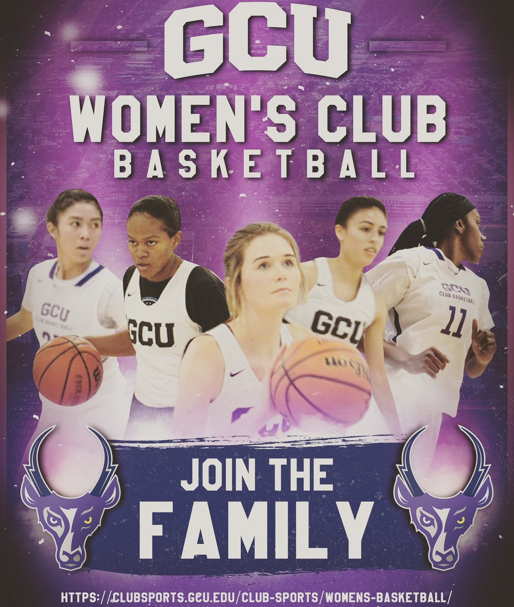 Ladies seeking the opportunity to continue playing basketball at a competitive level? GCU Women's Club Basketball is definitely for you!  Contact Head Coach (Kyle Speed) on IG at justme_kylespeed or visit:  https://t.co/fc8GKPJmYE   #gcuclubsports #gcu #gculopes #gcubasketball https://t.co/0yX4lSnVmK