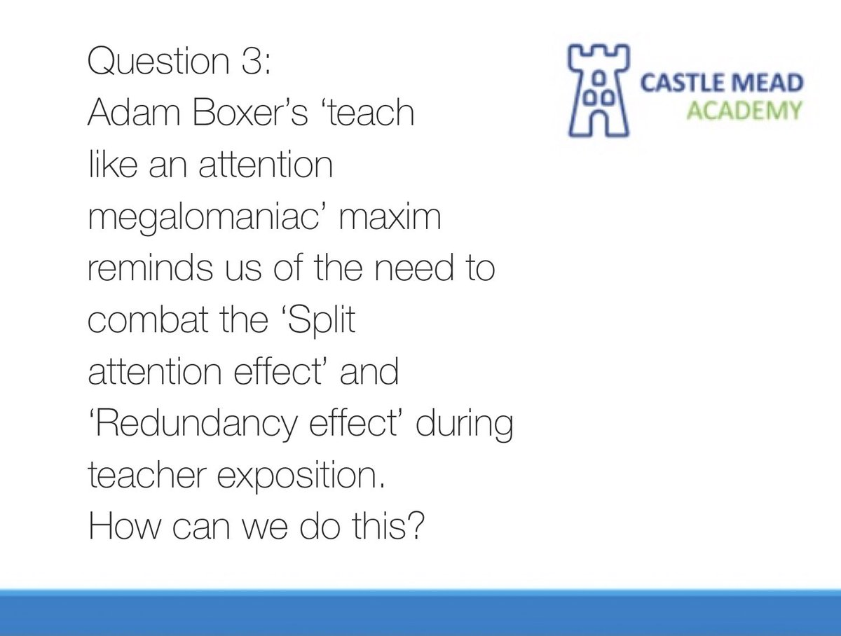 Last one for today... Question 3. #CMAPLchat