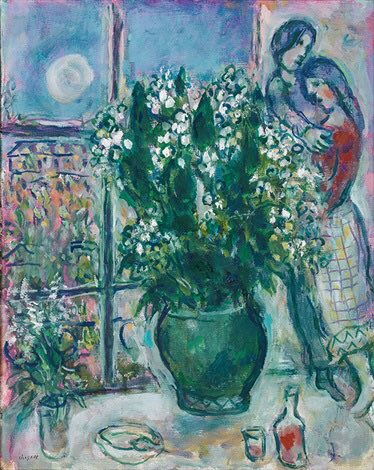 Bringing some beauty your way with this dreamy lily of the valley bouquet. ✨🌿  🖼: Marc Chagall, 'Les Muguets au Quai d'Anjou', Paris, 1971. ⠀ #BOZARatHome #MuseumatHome #MayDay https://t.co/iNVvpTYTPG
