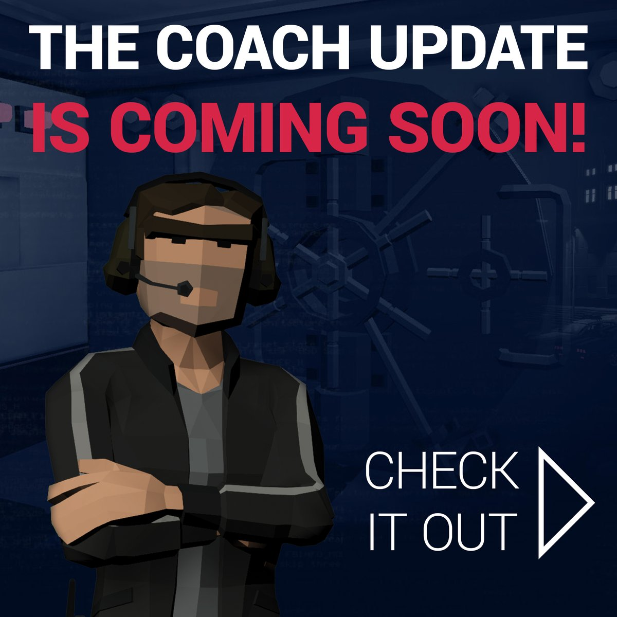 We're working hard on the next CinQ update. You can already check out details about the upcoming Coach feature over at https://playcinq.com/#Coach   #PlayCinQ #eSports #RemoteTraining #RemoteLearning #RemoteTeamwork #RemoteCoaching #Teamwork #Learning #Leadership #Gaming #LMSpic.twitter.com/8VdmWQA7Y9