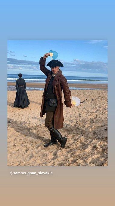 Happy Birthday Jamie Fraser, hope Sam Heughan saved you some whisky