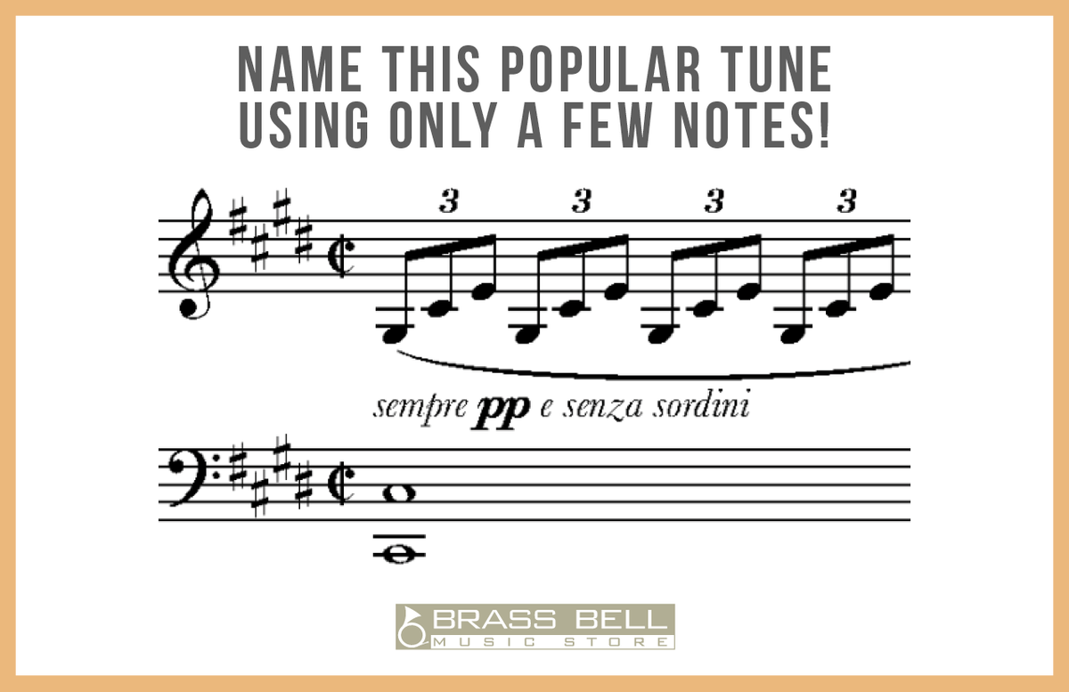 #NameThatTune!  All week long we are challenging our followers to name popular tunes using just a few notes! Are you up to the task? Comment below with your guess! #supportingmusinourcommunity #musicfun #musictheory #musiclessons #localfirstmke #welcometoglendale #localmusicstorepic.twitter.com/F1T0F8veKJ