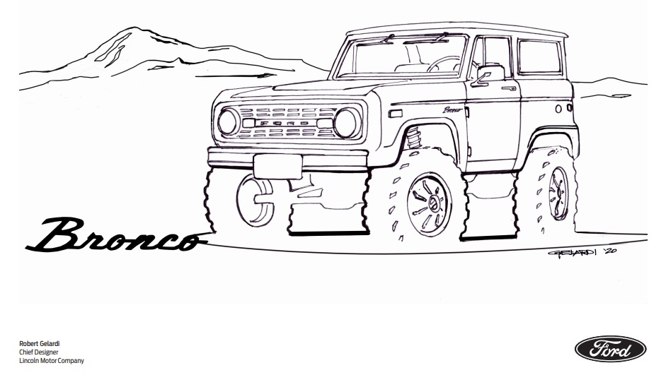 Mike Levine On Twitter This Bronco Has Been Added To The Ford Coloring Book I Am Not Responsible For Any Drop In Wfh Productivity Https T Co Rxwv6o7bxp Https T Co Eyrfsy07nr