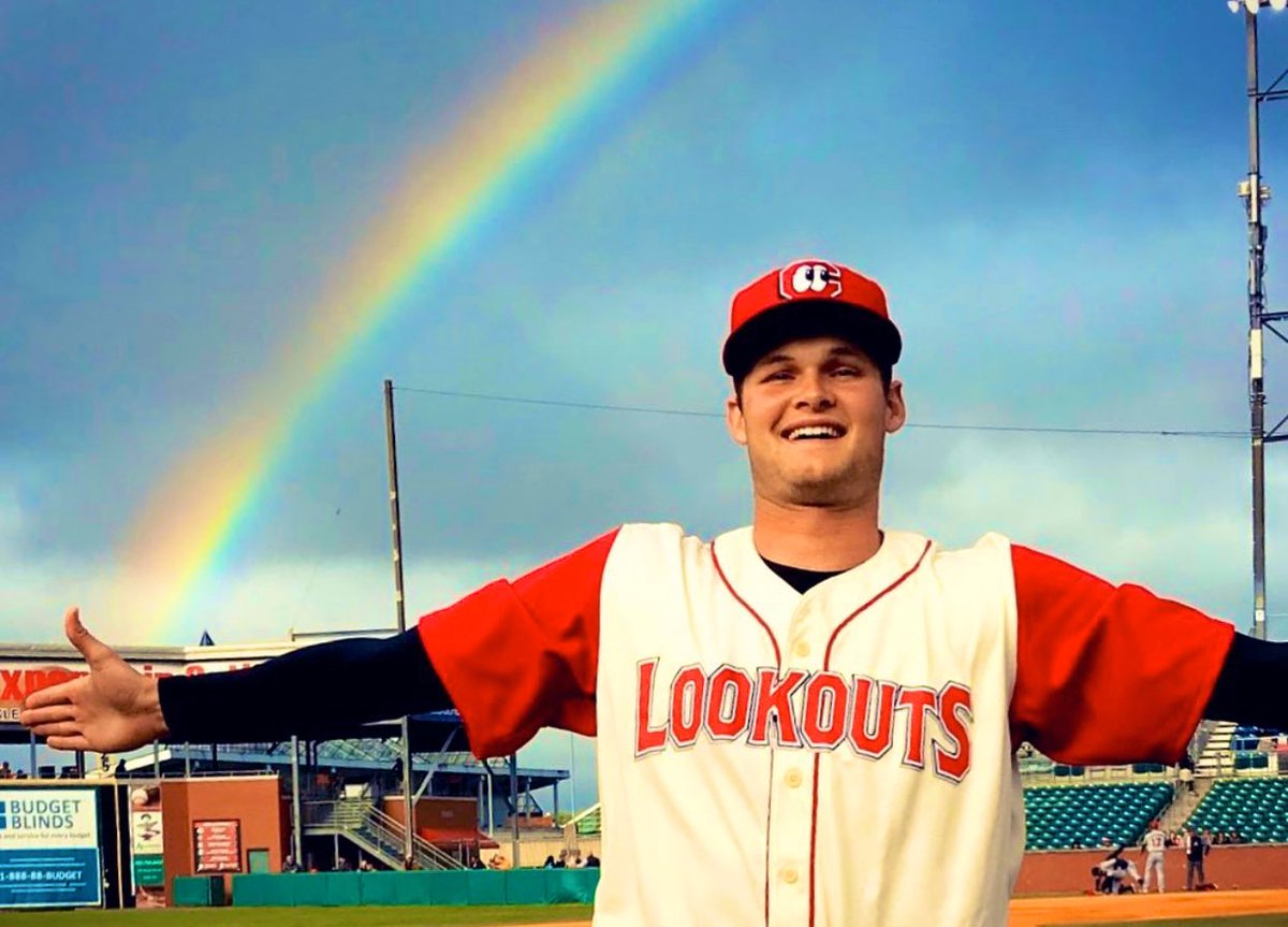 Happy May! Hope its a month filled with rainbows. 👀⚾️🌈