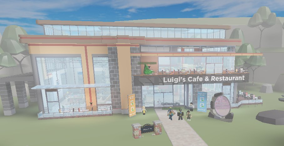 Ultraw On Twitter We Just Released Luigi S Cafe And Restaurant