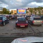 Image for the Tweet beginning: Im Aachener Autokino von unserem