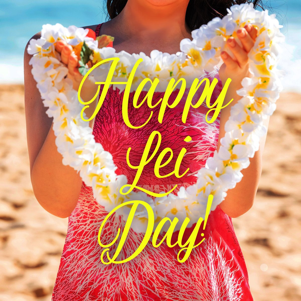 Happy Lei Day! Thinking thoughts of fragrant blossoms and when we can once again greet friends and loved ones with beautiful lei. Mālama Pono. #gokailua #hawaiinokaoi #maydayisleiday https://t.co/DW66RvkxvQ