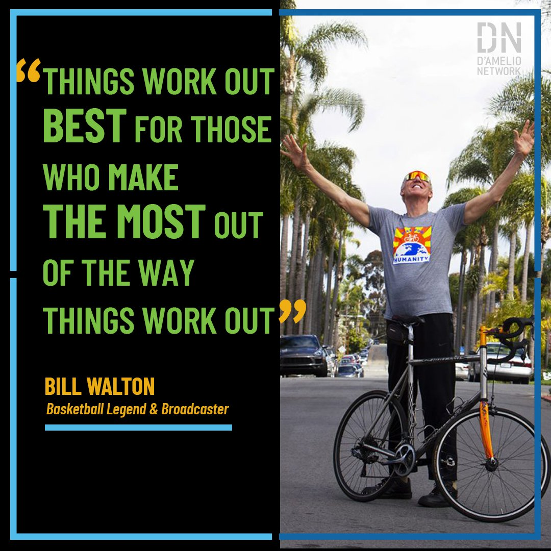 Feeling overwhelmed? @BillWalton has some great advice; words that have carried him through his successful basketball career & his nightmarish challenges off the court as well. Watch Bill talk about life's ultimate lessons - pride, loyalty and gratitude: hubs.ly/H0q3C_z0