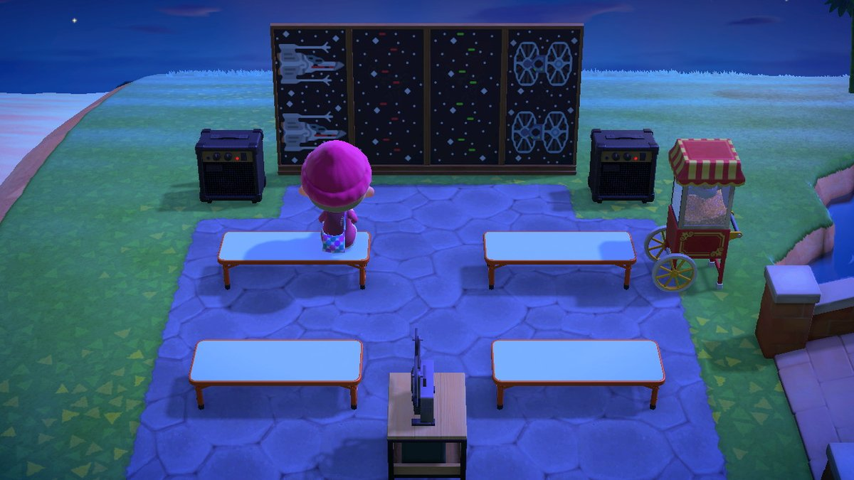 Joan Calamezzo Stan Account V Twitter Trying Out My Outdoor Cinema Animalcrossing Acnh Nintendoswitch