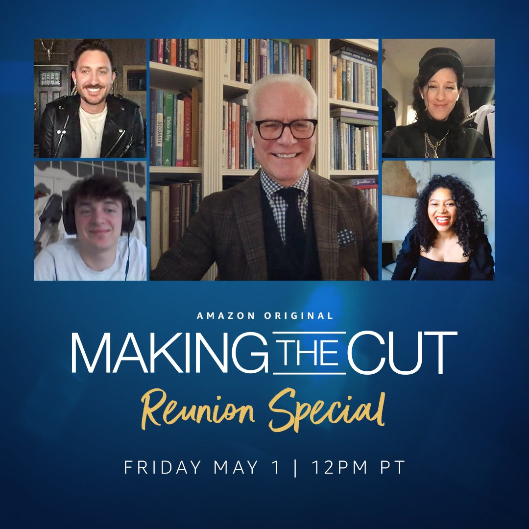 Don't miss the @MakingtheCutTV LIVE reunion special TODAY at 12pm PT/3pm EST on @PrimeVideo 's YouTube! I'll be chatting with the final 4 #MakingthCut designers and answering your questions.  #amazonfashion  https://youtu.be/cDZoW6X5v6M pic.twitter.com/ydWeLV8OW9