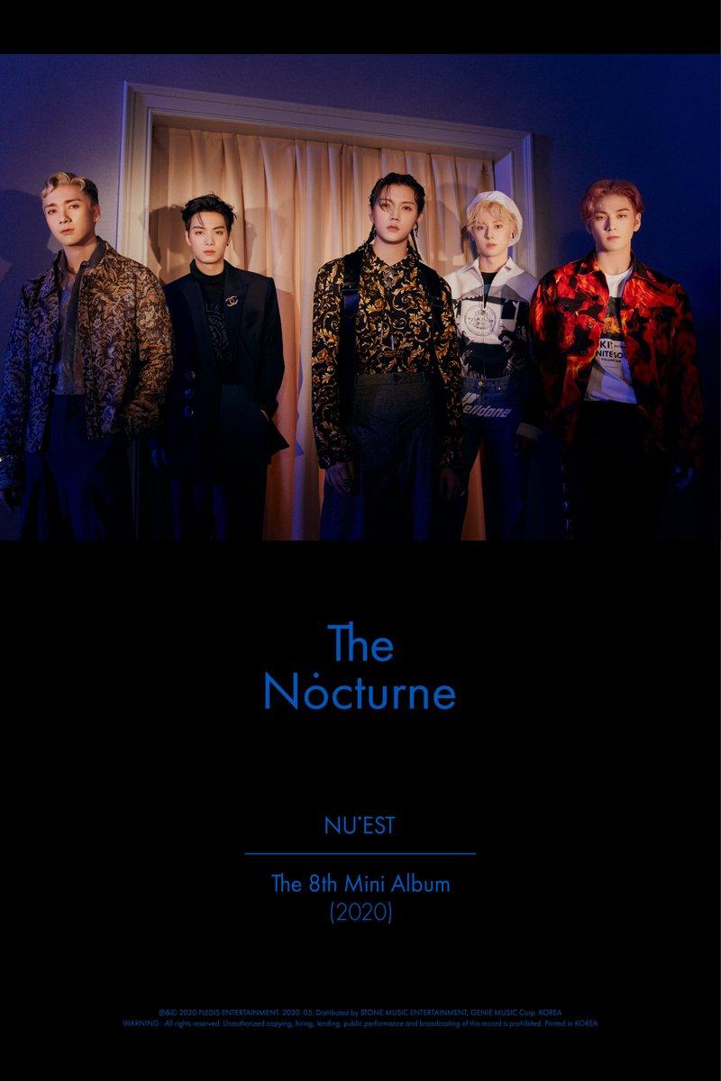 NU'EST The 8th Mini Album <The Nocturne> Official Photo Ver.3   #뉴이스트의_해석  #NUEST_JR_아론_백호_민현_렌 #뉴이스트 #NUEST #The_Nocturne  #20200511_6PM https://t.co/7PAvb9XW5M