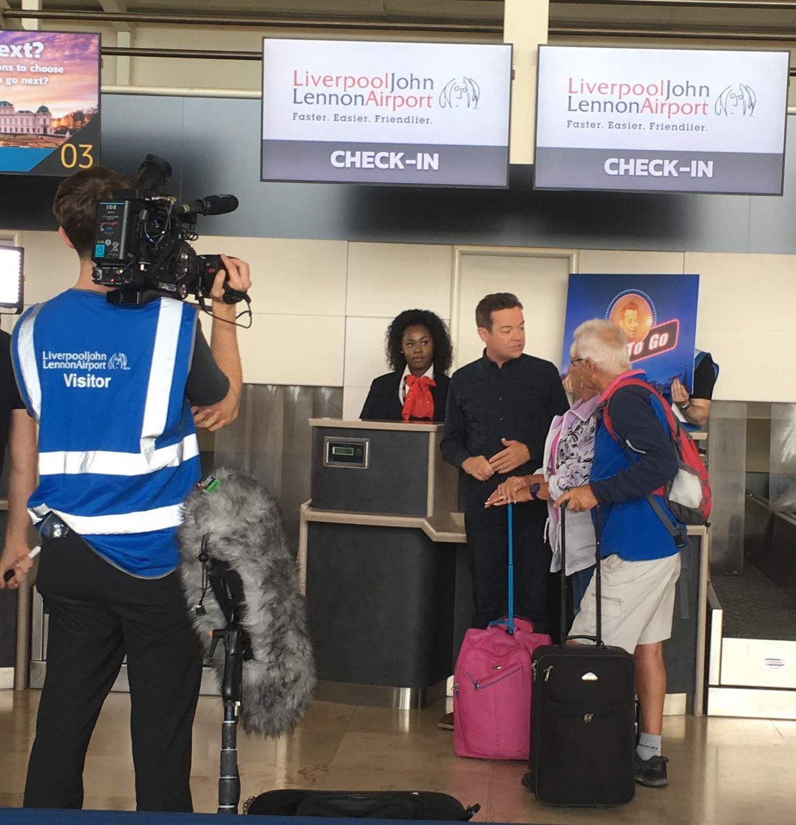 Tune in this Saturday evening (2 May) at 7:30pm @ITV for @InForAPennyITV with @StephenMulhern which includes passengers flying from LJLA taking part in the 'Weigh to Go' challenge.   #inforapenny https://t.co/cRSZPlvGNk
