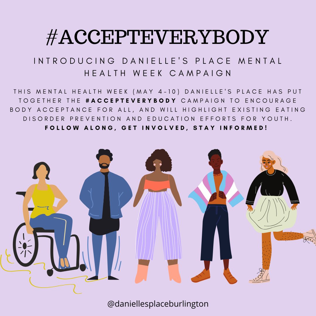 Rock Reach Out Centre For Kids On Twitter Dyk Children S Mental Health Week Is May 4 10 Danielle S Place Has Launched Its First Small But Mighty Campaign To Promote Body Acceptance For