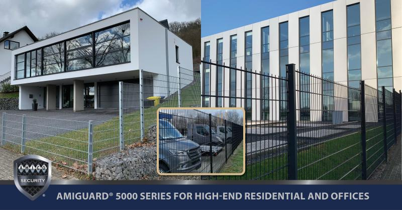 The #AMIGUARD® 5000 Series Enhances Fencing for High-End Residential or Offices addresses the drawbacks of Chain Link Fencing. It is the perfect solution for high-end residential and office fencing. ➡️https://t.co/NqLE3tDWOJ Follow us on LinkedIn! ➡️ https://t.co/zdaguOGMGz. https://t.co/4zfpencUr4