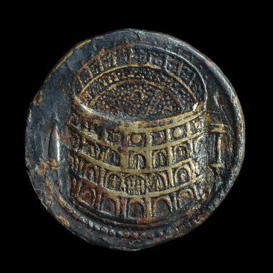 """And check out this #coin from the @britishmuseum collection that depicts the #Colosseum! """"Oh you should see the Colosseum, Spaniard. 50,000 Romans watching every movement of your sword..."""" @OptimoPrincipi #Gladiator20 #numismatics #Maximus pic.twitter.com/qRPJg7zi1i"""