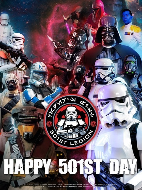 Happy #501stDay! This is a day long remembered. In 1997, an idea was born from a group of fans in South Carolina. Since then, we have grown to 13,974 members in 68 countries around the world!#501stLegion #StarWars #BadGuysDoingGood #VadersFist  📸: Peter Nuthall & @501stBadlands https://t.co/8ekVLSFECz
