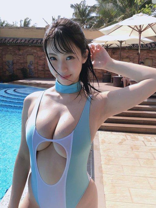 グラビアアイドル鈴木ふみ奈のTwitter自撮りエロ画像30