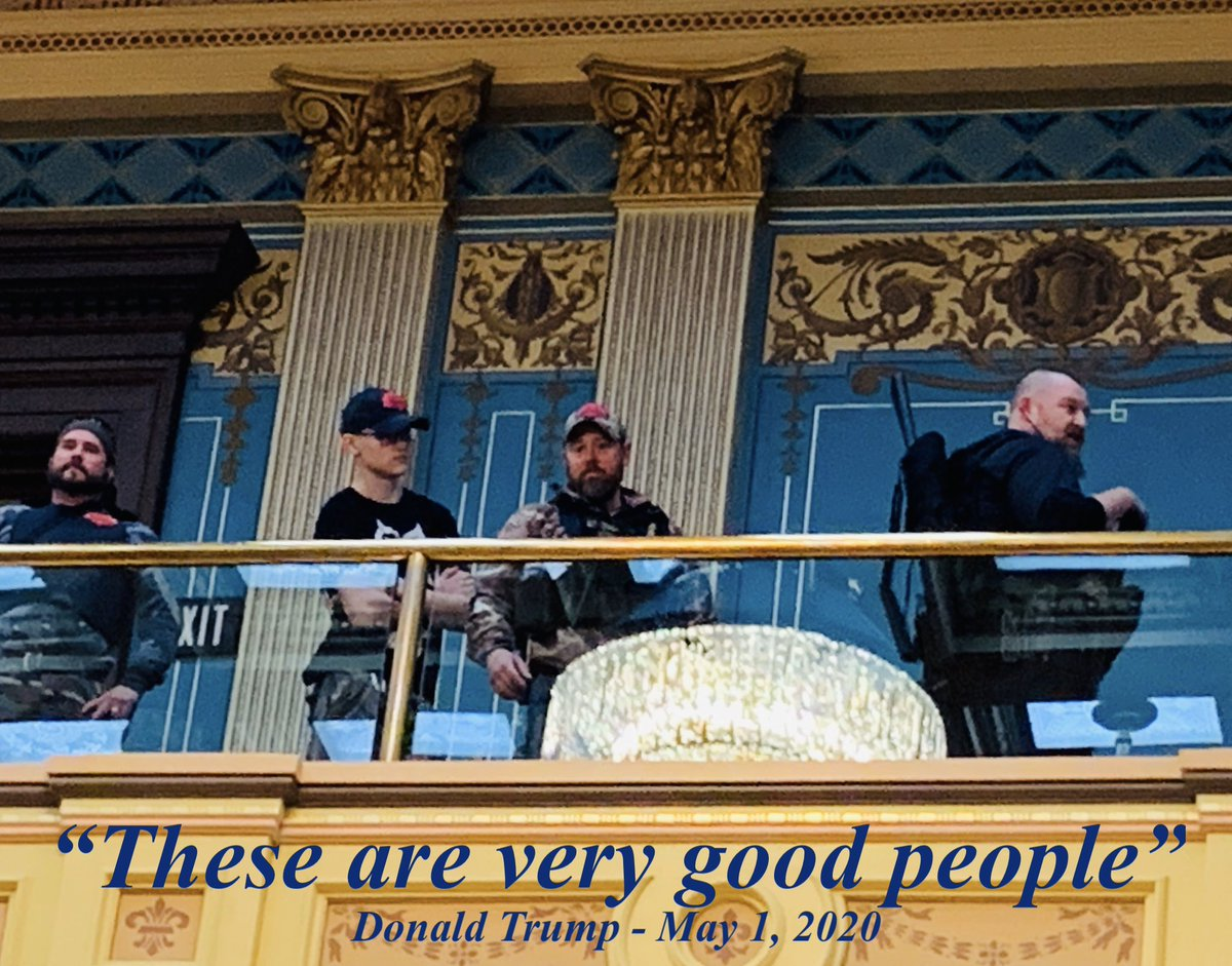 #GretchenWhitmer #michigan #protest #donaldtrump #goodpeople https://t.co/weIggZWauY