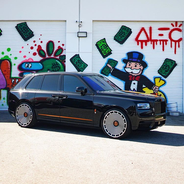 Rolls Royce Cullinan on the new Forgiato Parlante-ECL Wheels 🔊