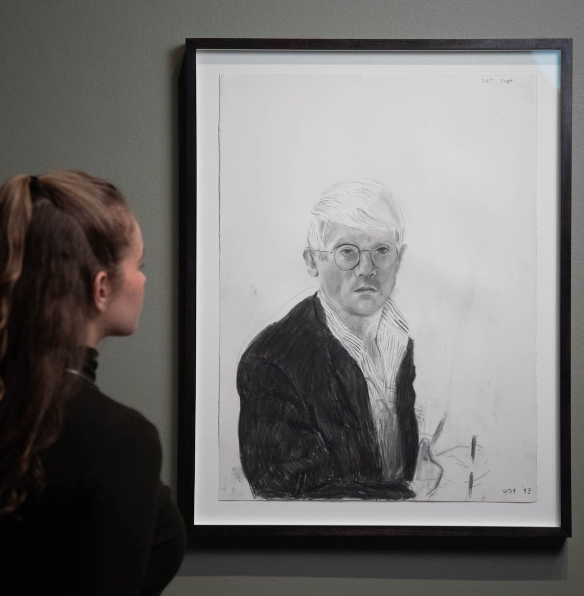 Create a self-portrait using different materials and share your drawings with @NPGLondon  using #HockneyDrawings.   You might be in with a chance of getting featured on their channels. #IsolationInspiration https://t.co/6c38A0Pe2M