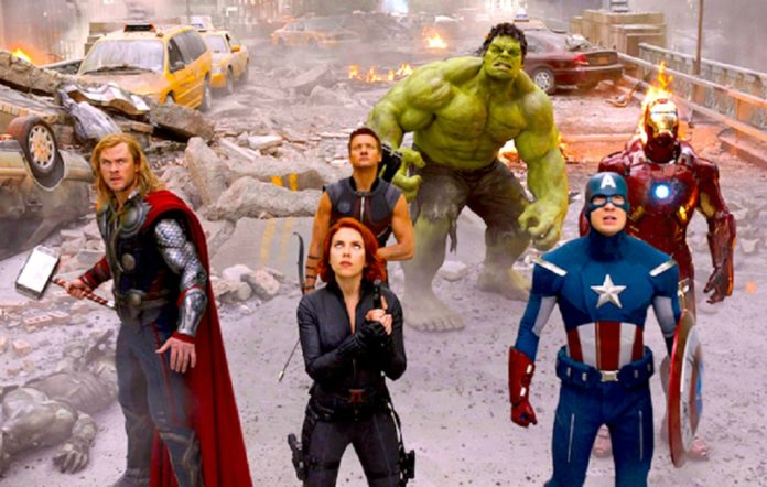 OK, that's it. I don't remember what day it is, so I'm assembling the #Avengers.  #Superheroes #SuperheroMovies #marvelcomics #ShelterInPlace #Isolation