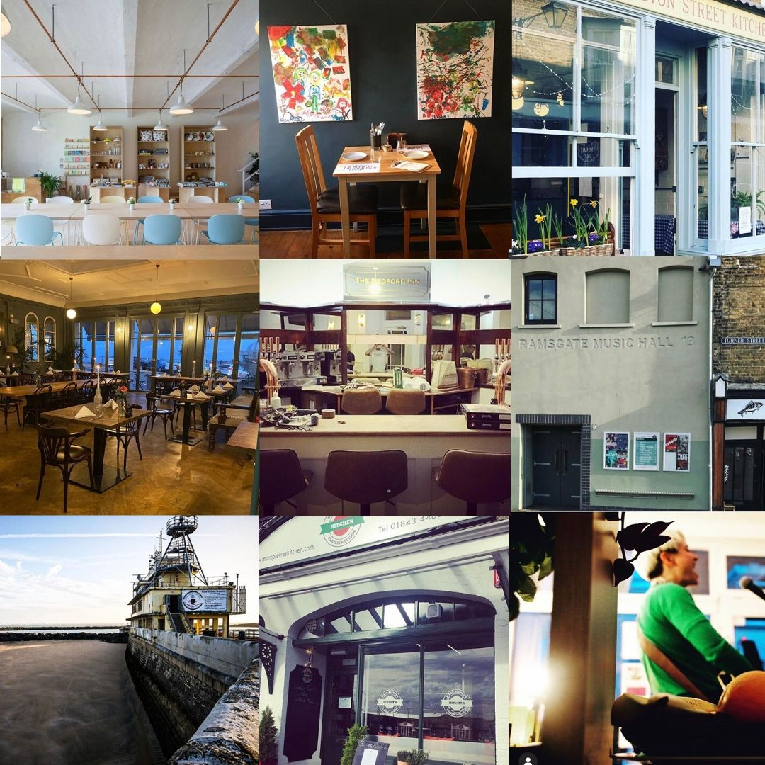Today would have been launch day for our Summer issue - Here are 9 great venues at which we might have held the event (big love❤️) @ArchiveRamsgate @aryaramsgate @the_falstaff @albionhh, The Bedford Inn, @RamsgateMH, @RHBrasserie, Marc Pierres Kitchen, EatsnBeats #loveramsgate