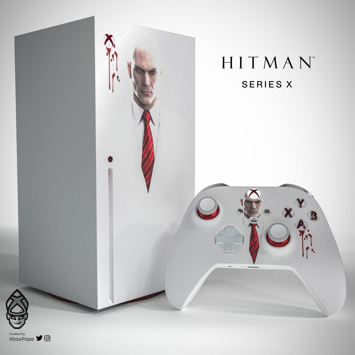 Pope On Twitter Ok Its Xbox Fan Art Friday I Had Lots Of Request For Hitman Hitman Iointeractive Well Done On Everything You Have Done Xboxseriesx Https T Co Sm0t7ouynz