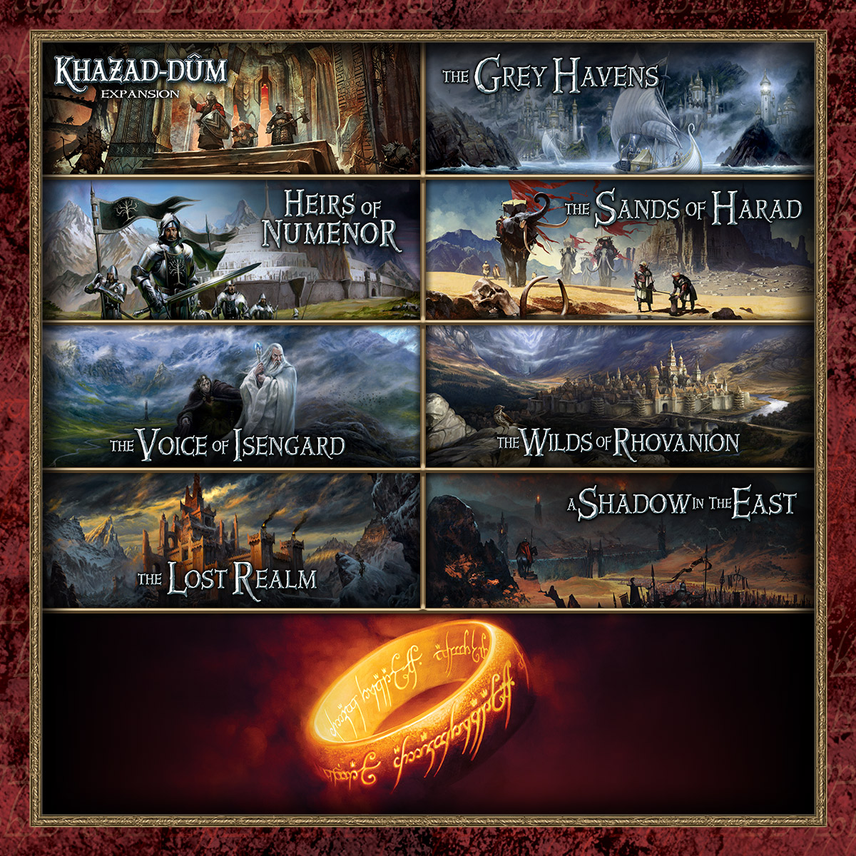 As our longest-running cooperative Living Card Game, The Lord of the Rings: The Card Game offers dozens of heroes and eight full cycles—as well as the Saga Expansions that invite you to play through the events of The Lord of the Rings trilogy yourself. #cardgame #sologame https://t.co/MoNMp9KbfQ
