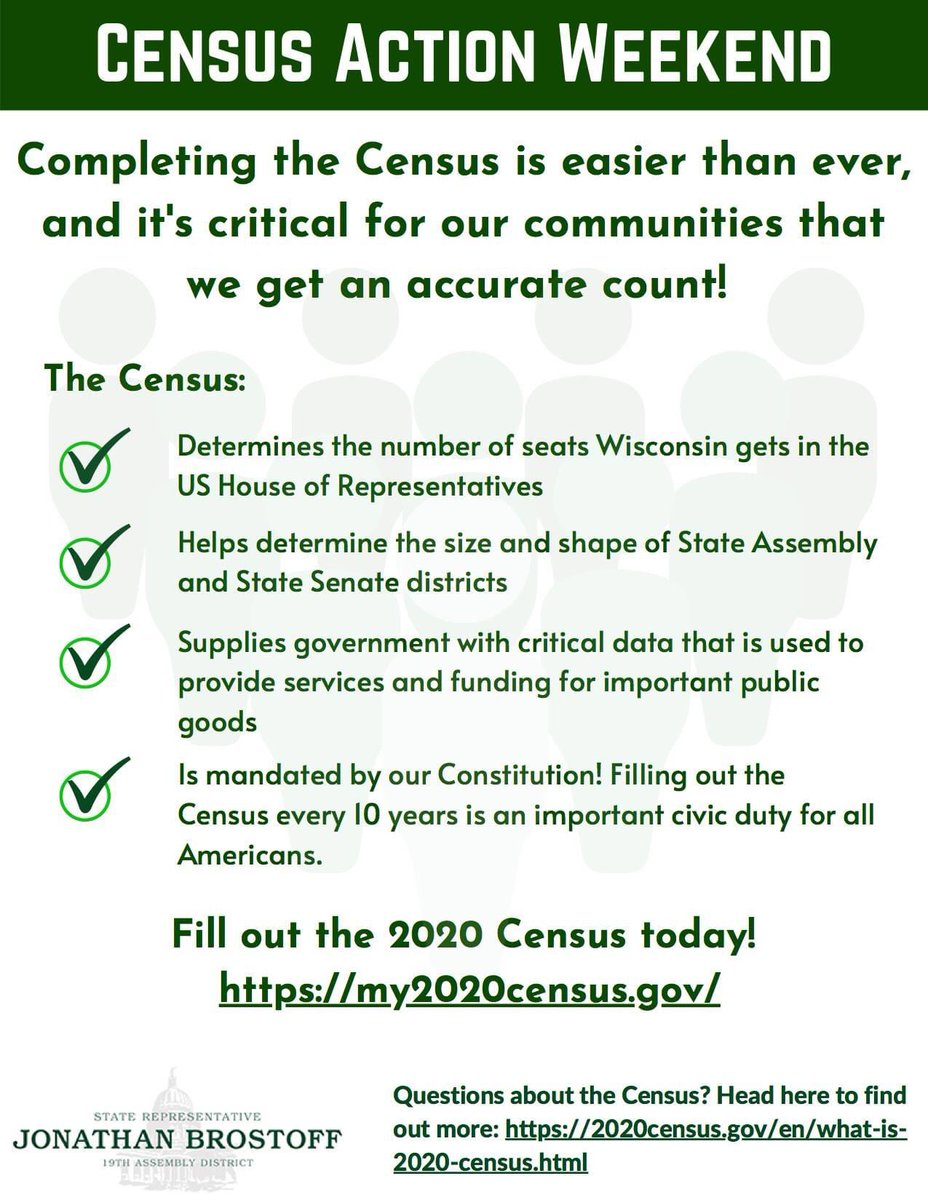 It's Census Action Weekend! Have you completed the #2020Census yet?