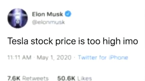 Elon Musk, Tesla, Shares Drop | Baaz