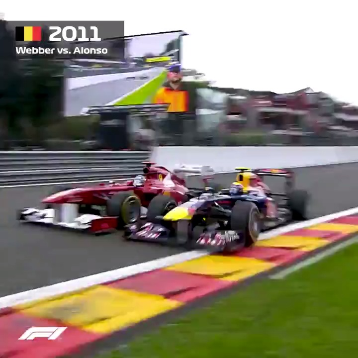A once-in-a-career overtake 😧 #F1 @aussiegrit @alo_oficial