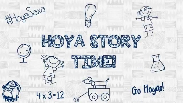Welcome to Hoya Story Time presented by @EVERFI! Todays episode features Head Coach Ricky Fried from @HoyasWLax #HOYASAXA