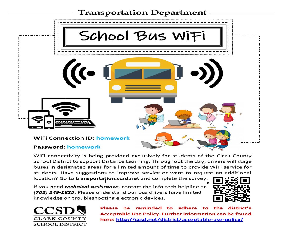 Ccsd On Twitter Ccsd Began Testing A System For Wi Fi Access At Various Locations Throughout The Valley Today Via School Buses That Will Be Parked At Different Locations Along Designated Routes Maps