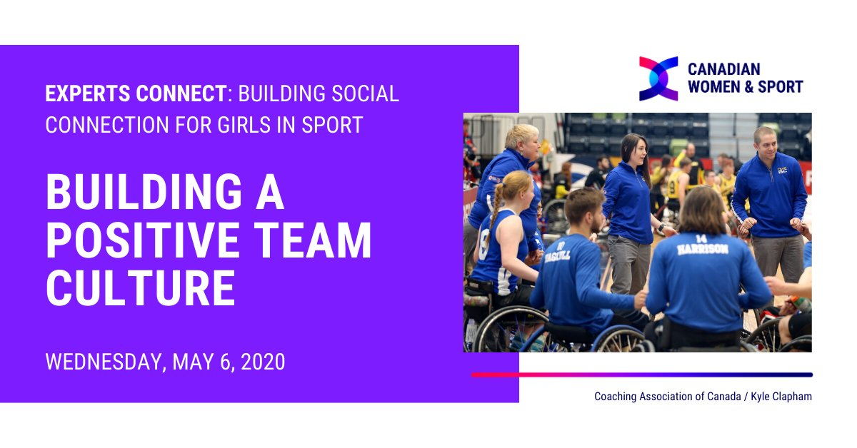 Join us next Wednesday, May 6th for a conversation with @NBYMP_Canada about how they facilitate social connection for their participants and build a positive team culture in a virtual environment. Register here: https://t.co/cXgEwthvyw https://t.co/qZkd7zETUy