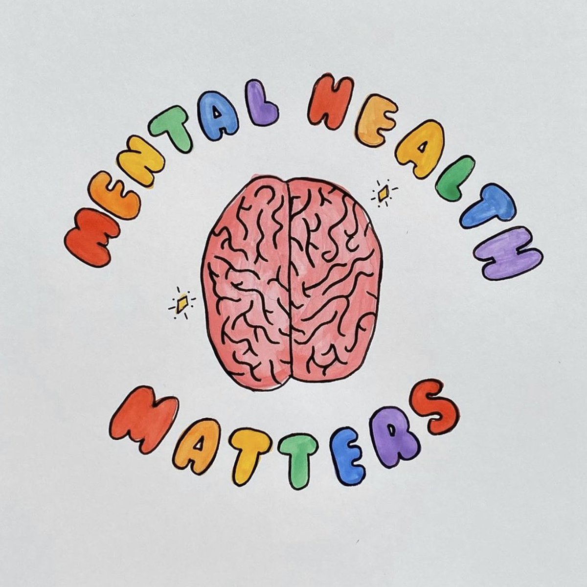 Happy #MentalHealthMonth... it's my mission to end the stigma with rainbows and I won't stop ever... 🌈✨