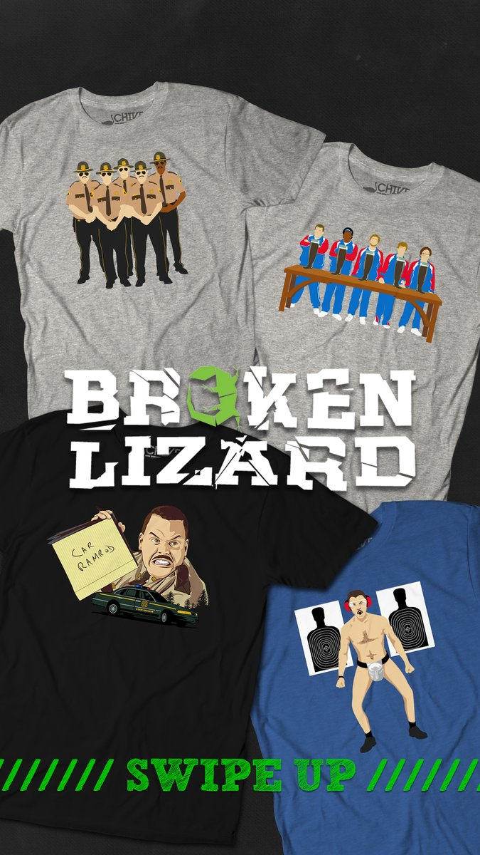 Broken Lizard and @thechive are making t-shirts! thechivery.com/collections/br…