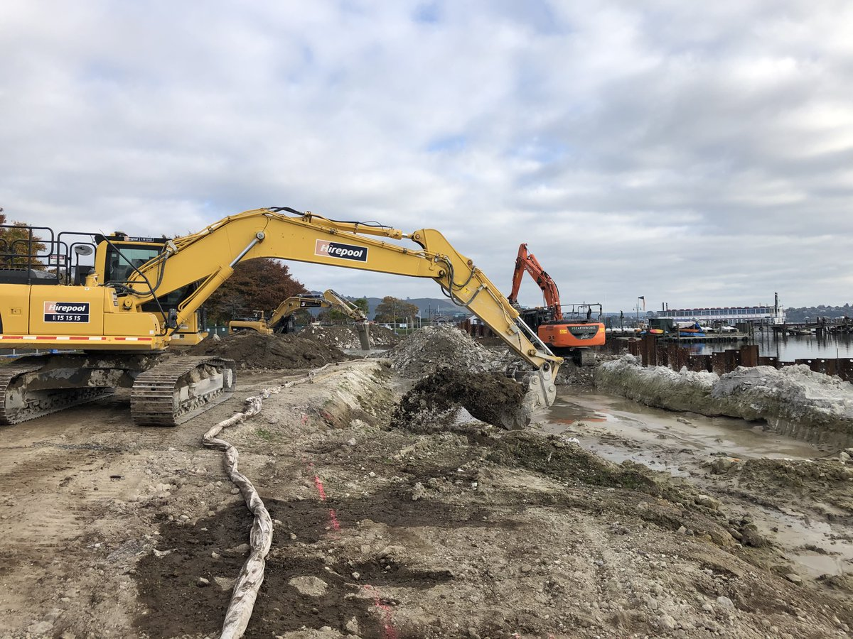 Now that we're in Alert Level 3, it's great to see the Rotorua Lakefront Development project back up and running! Learn more about this project at https://t.co/5CTPwkToGV.  @PGFgovtnz https://t.co/sSgZEFvjj1
