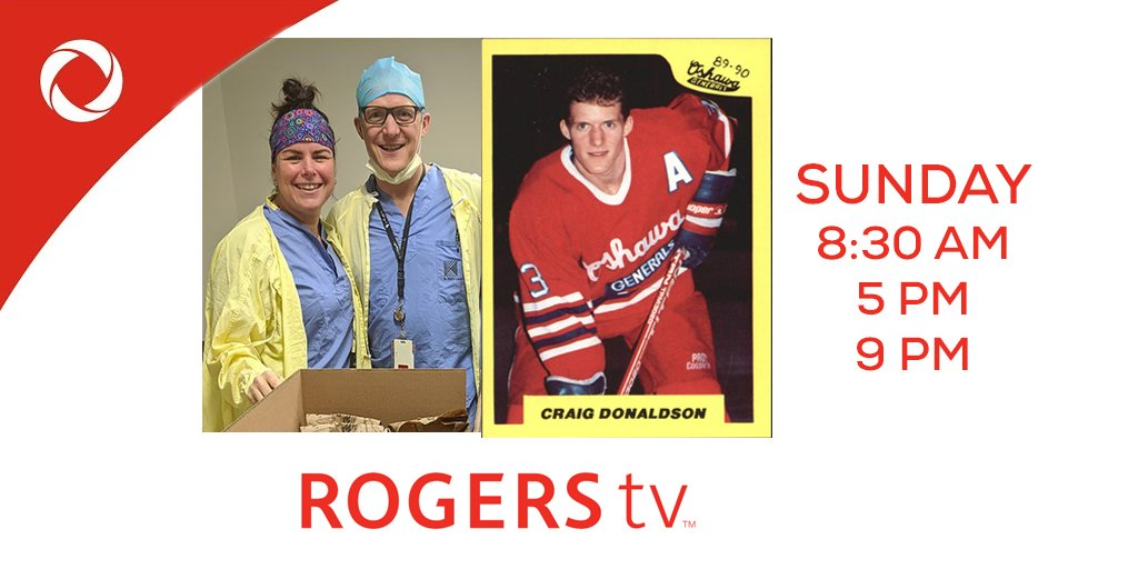 Frontline emergency doctor and Memorial Cup Champion Dr. Craig Donaldson joins @JonBlueNYellow to talk about being on the front lines of #COVID19Ontario and his playing days with the @Oshawa_Generals   Live Sunday on @ROGERStvDurham and streaming on https://t.co/bc3KaqSwG1 https://t.co/b7VIOPizel