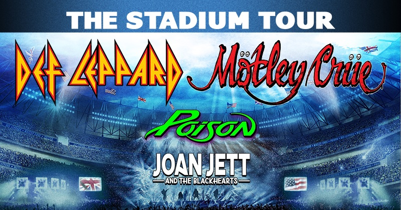 The Stadium Tour - Click to see update from the band poisonofficial.com/news/update