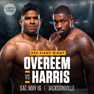 Overeem vs Harris