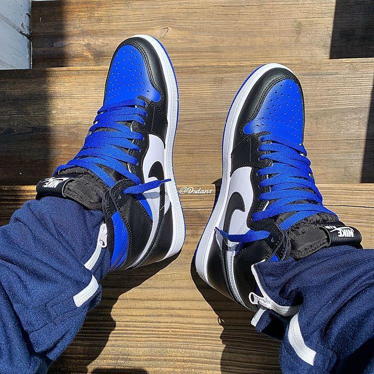 Justfreshkicks On Twitter Air Jordan 1 High Royal Toe May 9th