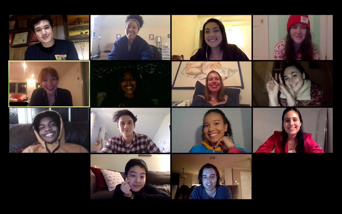 NYU Nine Muses Lab Zoom Call (pajama party edition 🎉)!