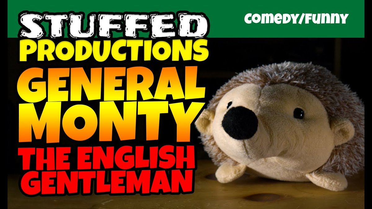 Youtube Stuffed Animals, Youtube Com C Stuffedproductions On Twitter Https T Co Kcl5bdufcu Interview With Monty From Our Gardeners World Series S02e04 Animals British Comedy Comedyvideos Cute Funny Hedgehog Lol Plush Plushies Plushvideos Stuffedanimals Video